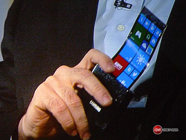 samsung flexible smartphone