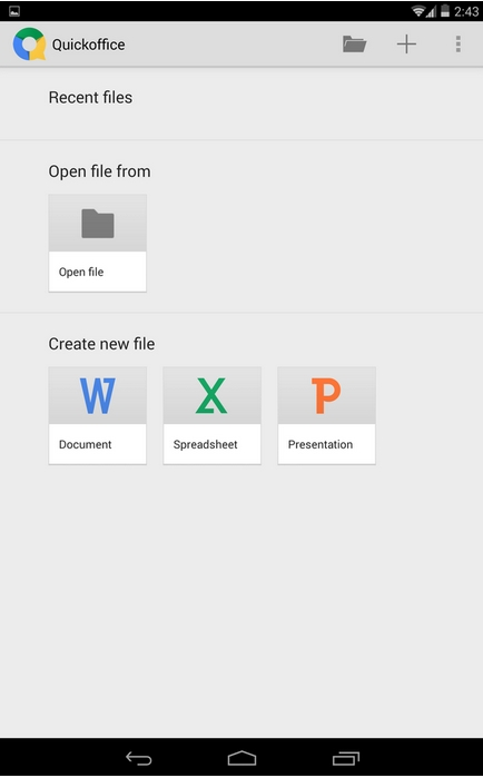 4.4 KitKat App drawer