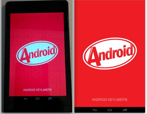 Android 44 KitKat update Screenshot