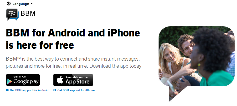 BBM for Android   iPhone iOS is Here   Download BBM   BBM Global   English
