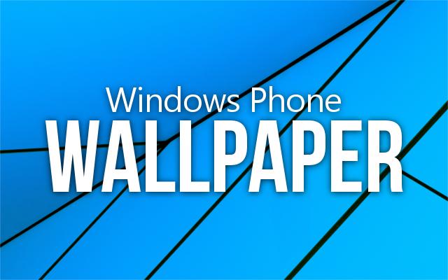 Download Windows phone wallpapers