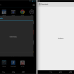 Android 4.4 KitKat update Screenshot