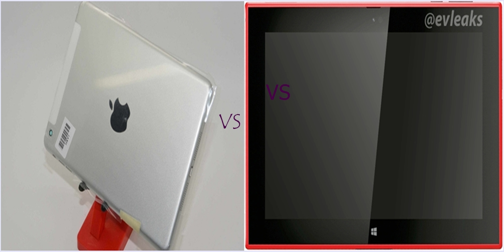 iPad mini 2 vs Nokia Lumia 2520