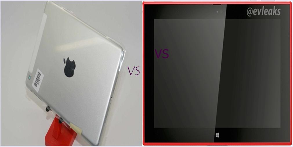 Nokia Lumia 2520 and iPad mini 2
