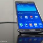 screen of Samsung Galaxy Round,