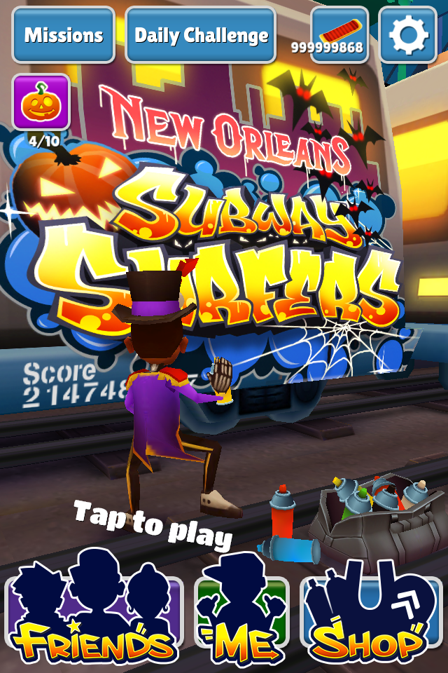 How to Hack Subway Surfer New Orleans for iPhone/iPad/iPod :