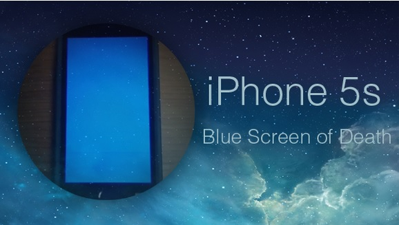 blue screen of death iphone 5s how to fix iphone 5s blue screen of and continuous 18319