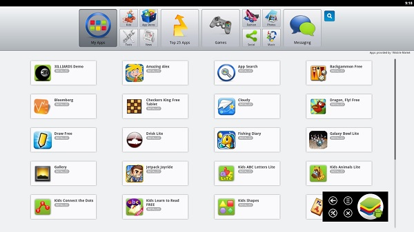Bluestacks-App