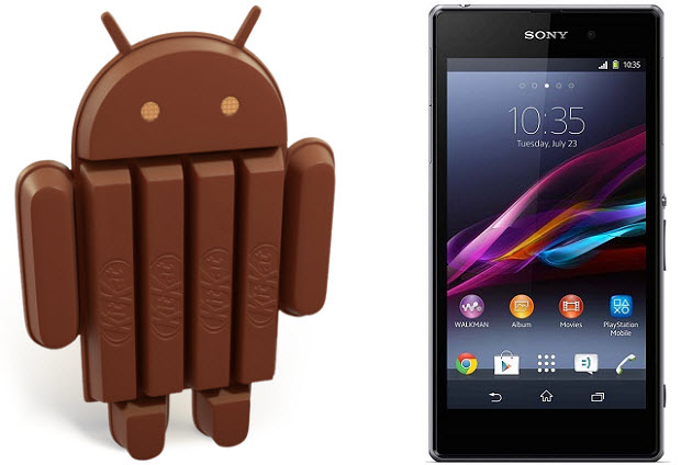 Xperia Z1 and KitKat OS