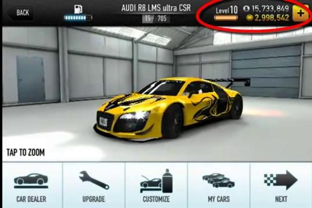 Image currently unavailable. Go to www.generator.cluehack.com and choose CSR Racing 2 image, you will be redirect to CSR Racing 2 Generator site.