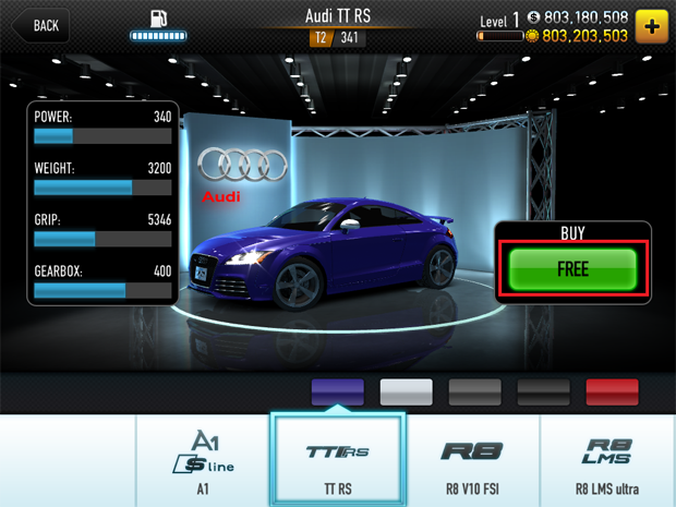 CSR Racing main 1 CSR Rancing   Get free cars and changes