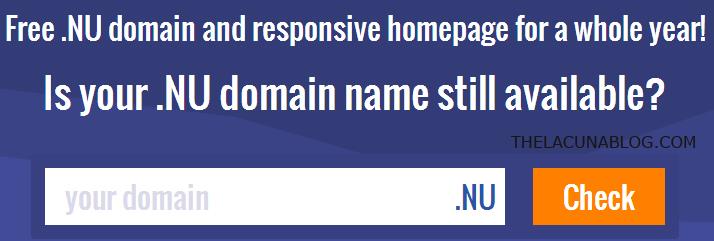 Free-.nu-domain