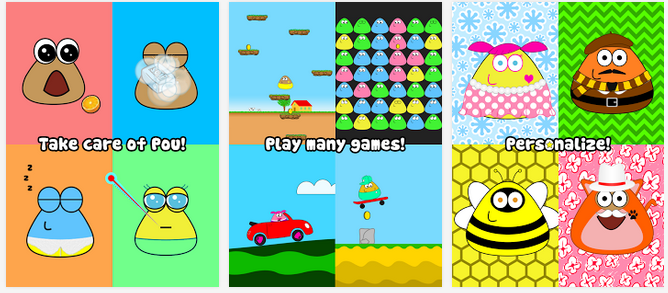 New download pou hack mod apk for android.