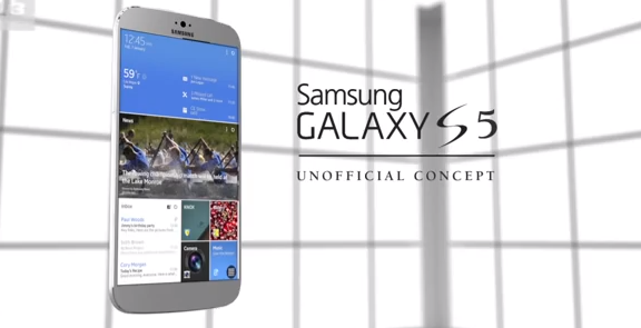 Samsung Galaxy S5 concept render   YouTube