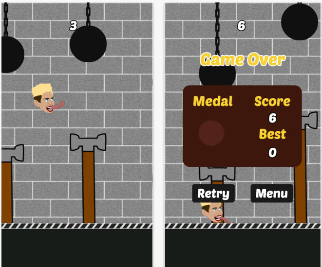Flying Cyrus   Wrecking Ball on the App Store on iTunes