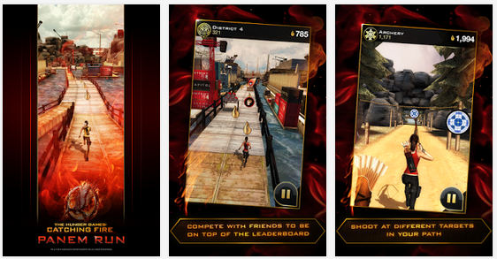 Hunger Games  Panem Run   Android Apps on Google Play