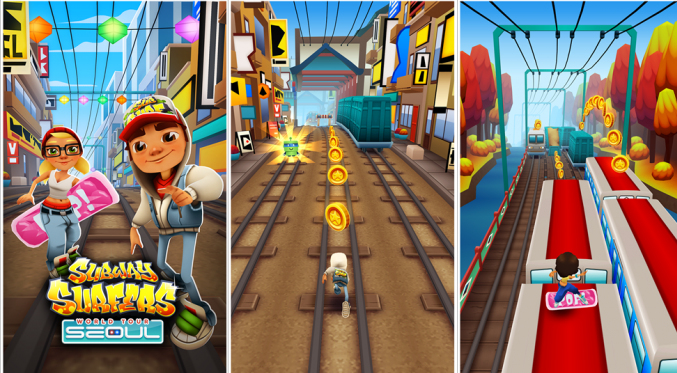 In Subway Surfers added a new city Seoul