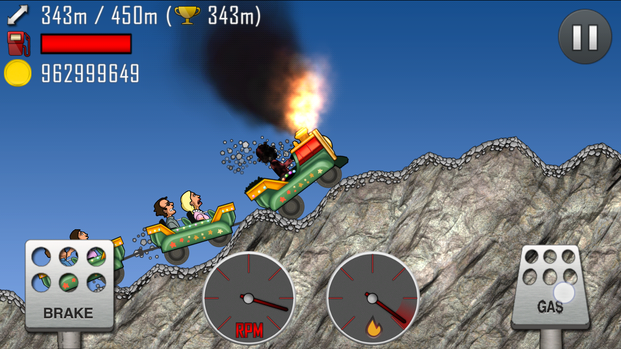 Hill Climb Racing v1.18.0 Mod APK Loaded with Unlimited Coins. [Sep,2014]