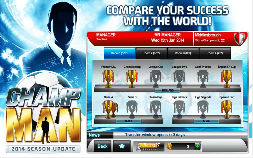 Champ Man   Android Apps