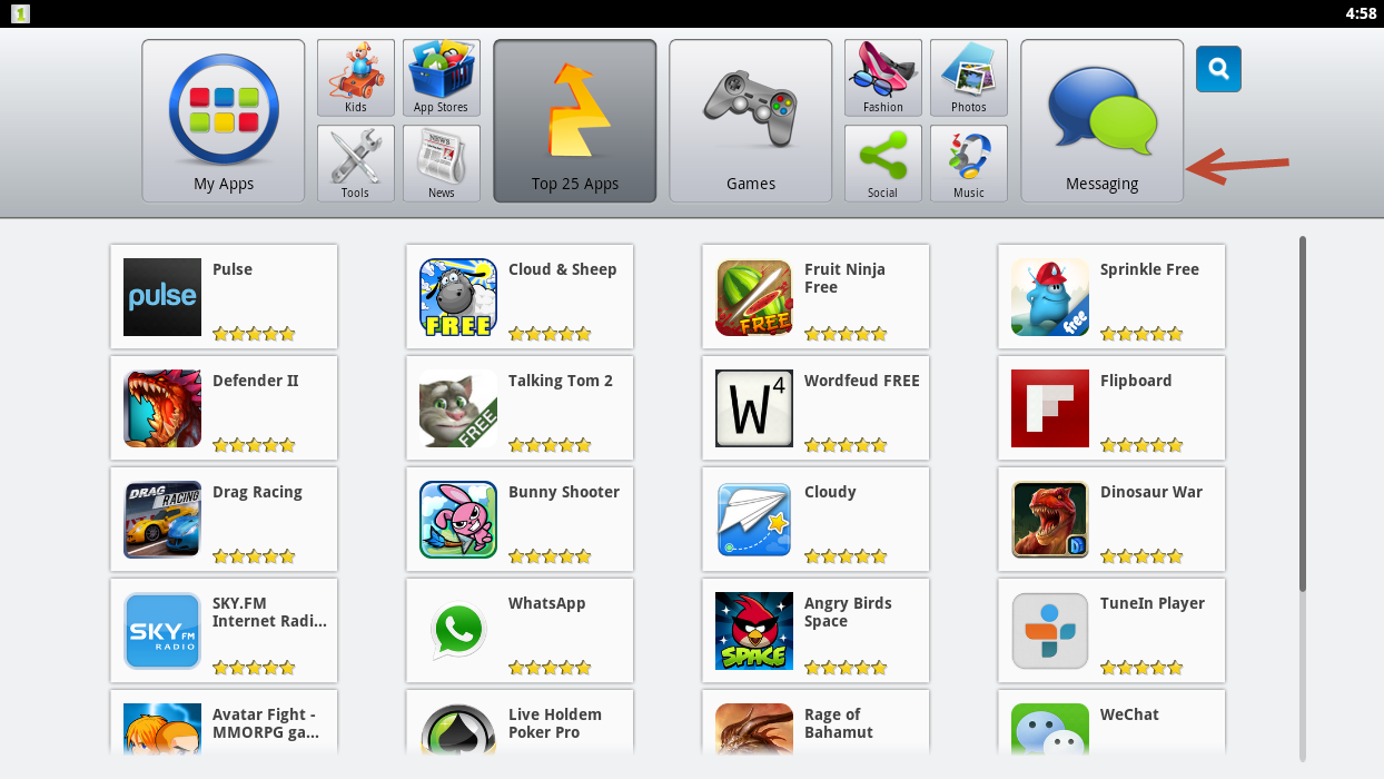 android games on windows xp