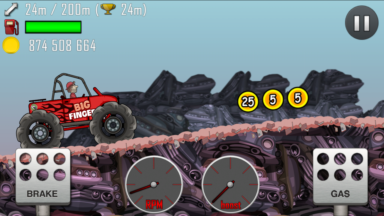 Hill Climb Racing v1.16.0 Mod Apk Loaded with unlimited money. [ may 2014 ]
