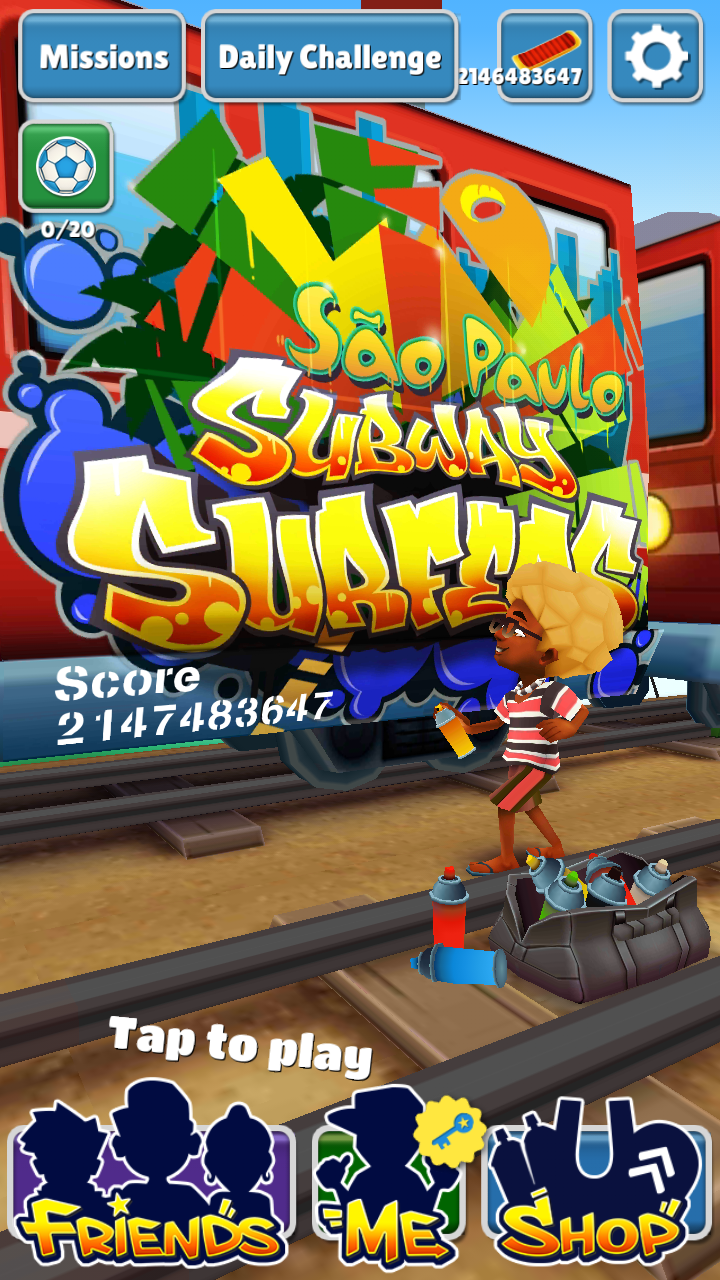 Subway Surface Beijing China Hack v1.28.0 With unlimited coins and keys. [ September 2014]