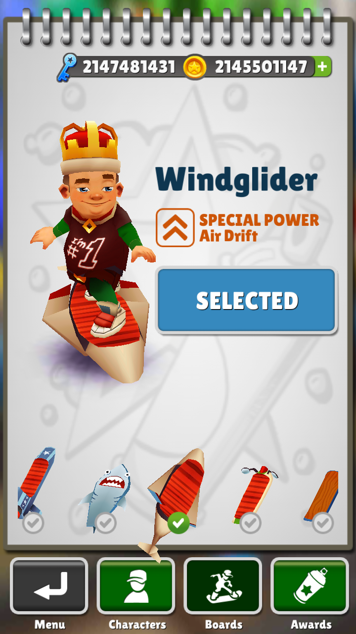 Subway Surfers MOD: 1700 Latest Download Unlimited
