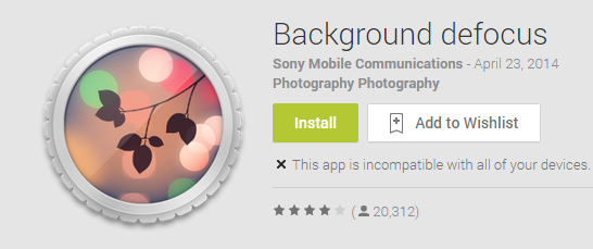 Background defocus   Android Apps on Google Play