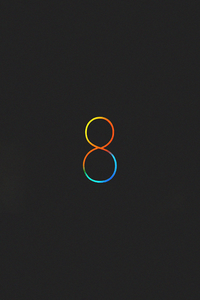 Black-Ios-8-Wallpaper