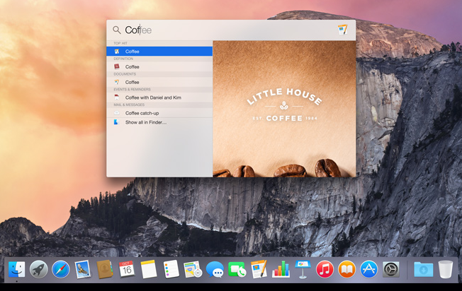Apple   OS X Yosemite   Design