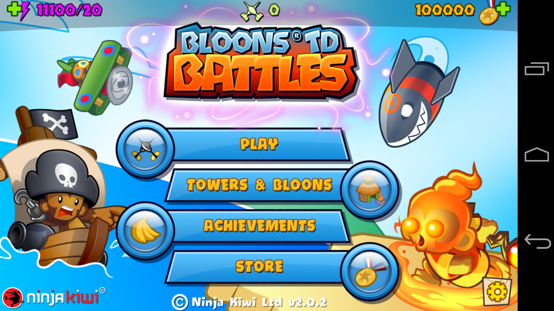 Balloons TD battles 2.0.2 Mod Apk, With Unlimited Energy and Money.