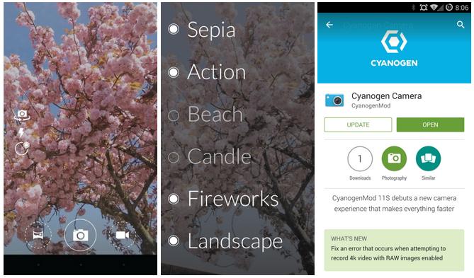Cyanogen Camera Apk