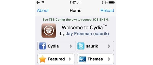 Cydia 1.1.13 for iOS 8