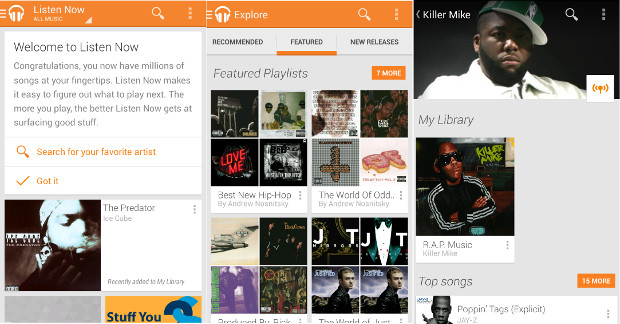 Download Android 5.0 L designed Google Play Music App. [ Direct APK link]1