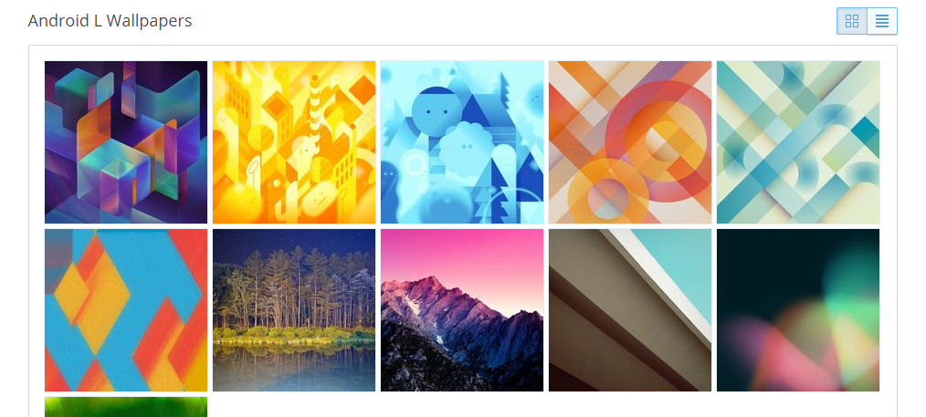 Dropbox   Android L Wallpapers