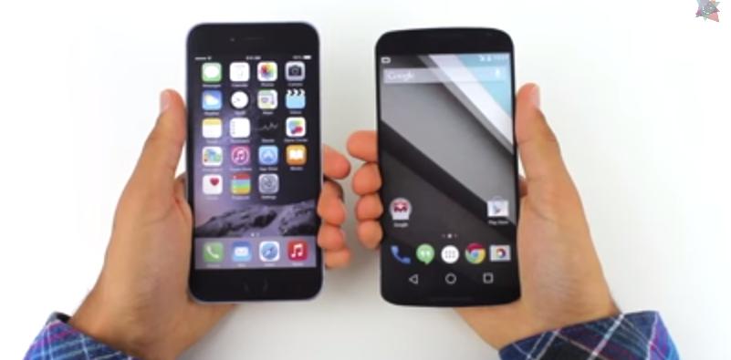 Google Nexus 6  Size Comparison   To Other Smartphones