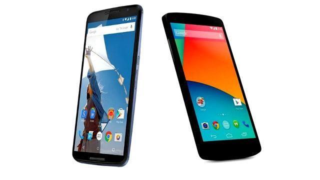 Nexus 5 vs Nexus 6