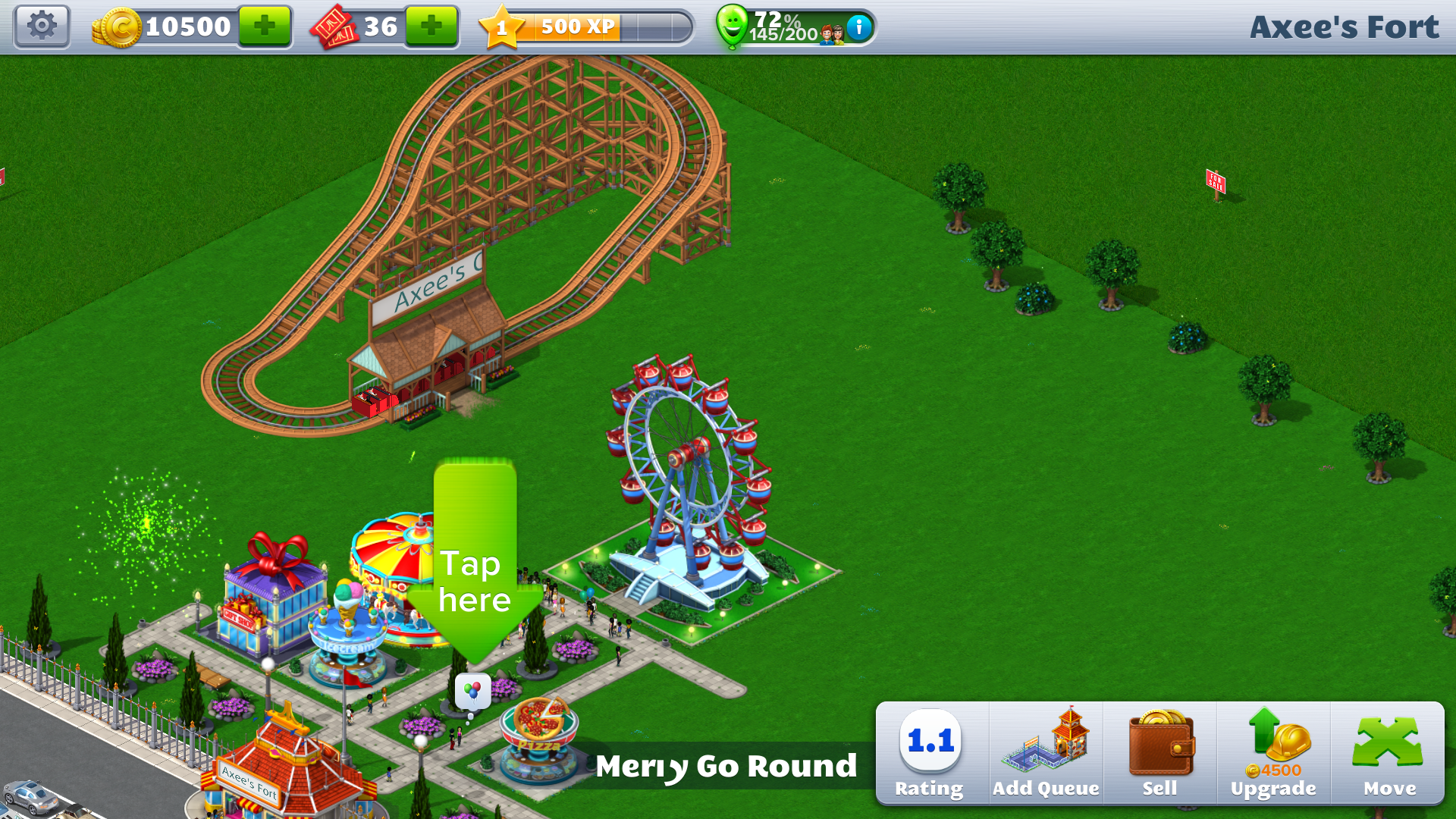 RollerCoaster Tycoon 4 Mobile apk (5)