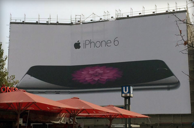 This bent iPhone 6 poster is perfect   The Verge