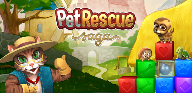 Pet Rescue Saga Wallpaper
