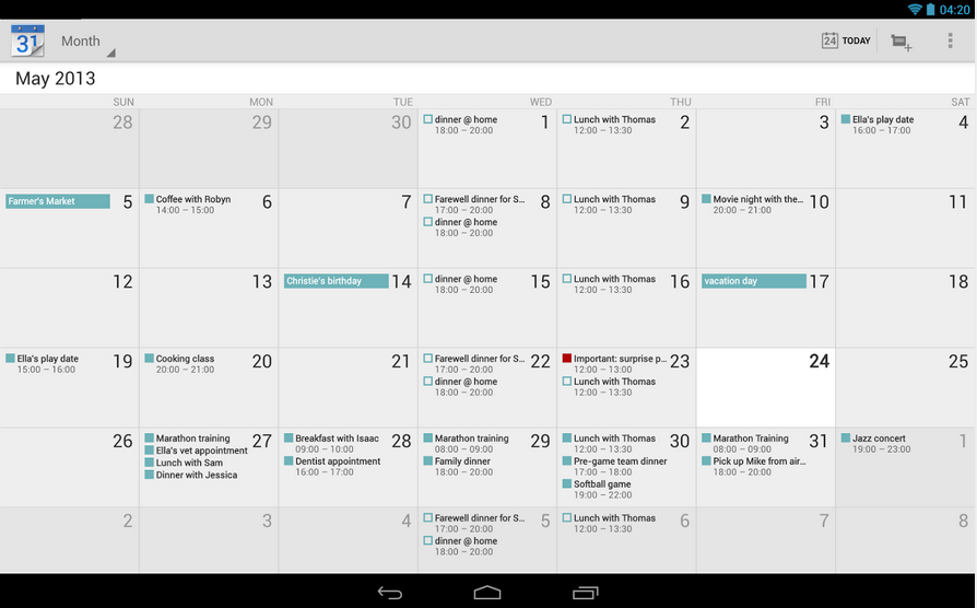 Google Calendar 5.0-1554015 Apk