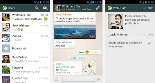 Download WhatsApp Messenger 2.11.432 APK for Android