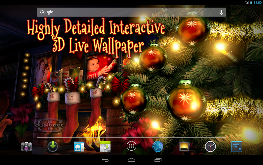 Download Christmas Live Wallpapers for your Android devices