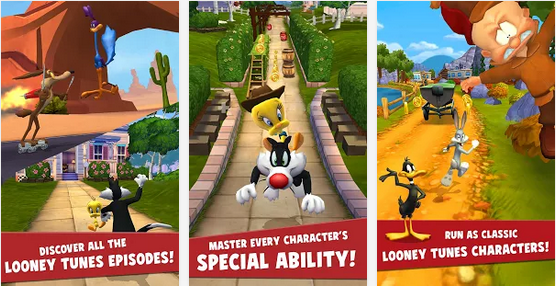 Looney Tunes Dash Mod Apk – Unlimited Gold and Money