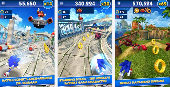 Sonic Dash 2.0.1 GO MOD APK