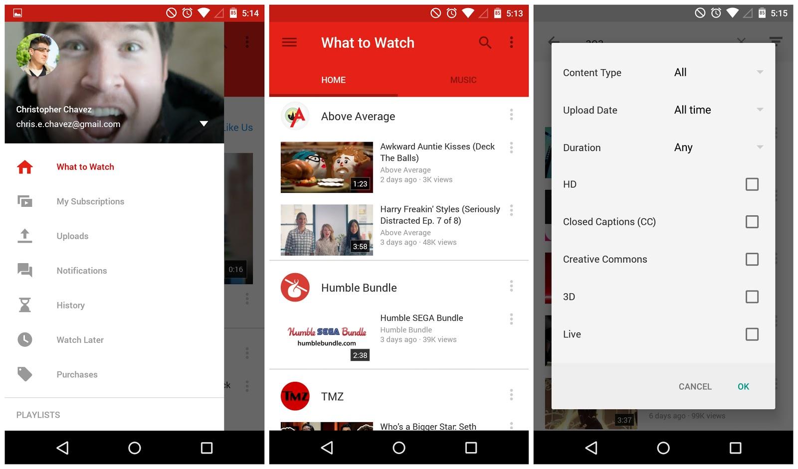 تحديث لتطبيق اليوتيوب YouTube v10.12.53 YouTube-6.0.11-Mater