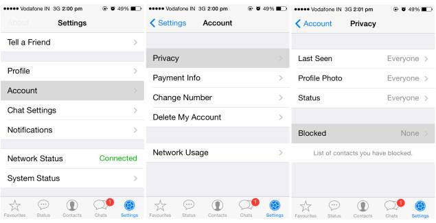 How to Block or Unblock WhatsApp contacts on iPhone, iPad.