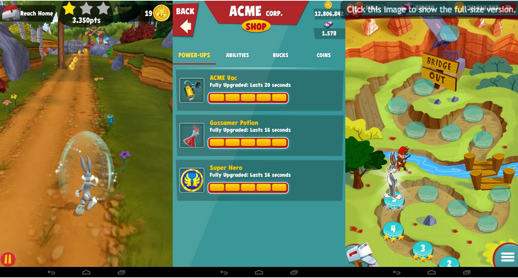 looney tunes dash apk unlimited