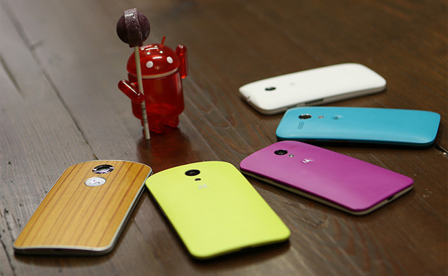 Motorola is Rolling out Android 5.0 update for Moto G in India and US