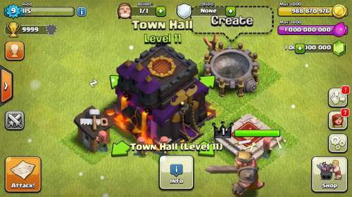 clash of clans apk unlimited gems and money